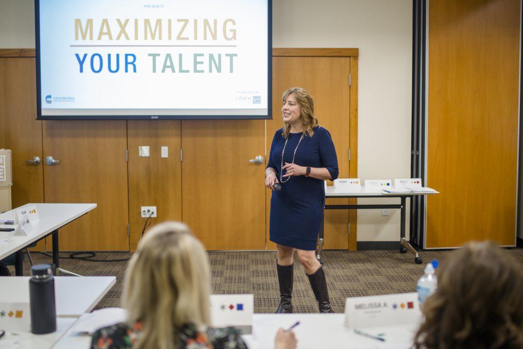 shelly leading maximize your talent program